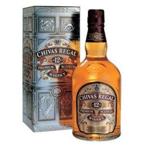 Whisky Chivas Regal 12 Yo 1 Lt.