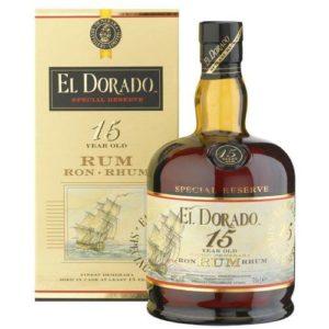 Rum El Dorado 15 Demerara Distillers 70 Cl