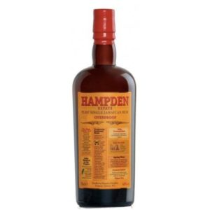Rum Hampden Estate Overproof 60° Cl 70