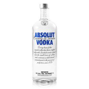 Vodka Absolut Blue Lt 1