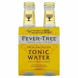 Fever Tree Indian Tonic (4X200ml)