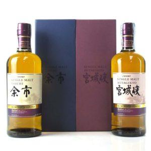 Nikka Yoichi & Miyagikyo Rum Cask Finish 70° Anniversario Velier (2X70CL)