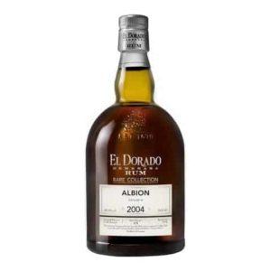 Rum El Dorado Rare Collection Albion 2004 70 Cl