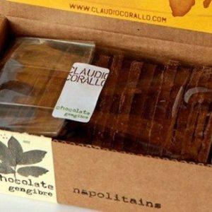Schokolade Claudio Corallo Zenzero Napolitaines