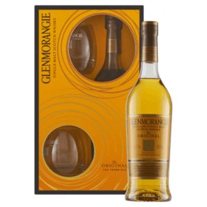 "Whisky Glenmorangie 10 YO ""Casks Only Used Twice"" 2 Tumbler Gift Set"