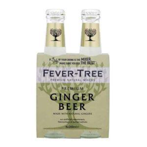 Fever Tree Ginger Beer (4X200ml)