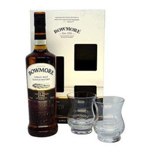 Bowmore 12 Giftpack 2 Glasses