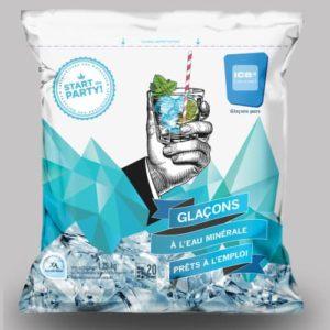 Ghiaccio Alimentare Ice Cube 3 Kg