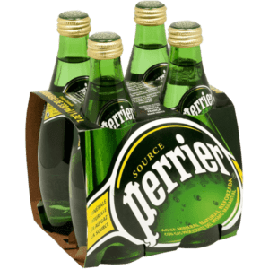 Perrier Sparkling Mineral Water CL.33X4