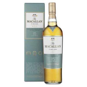 Whisky Macallan 15 Fine Oak Cl 70