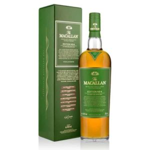 Whisky Macallan Edition N° 4 – 48,4°Vol 70 Cl
