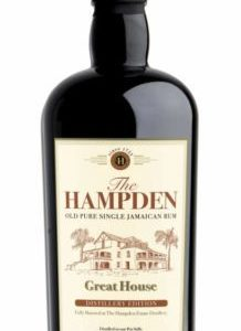 Rum Hampden Great House Distillery Edition Cl 70