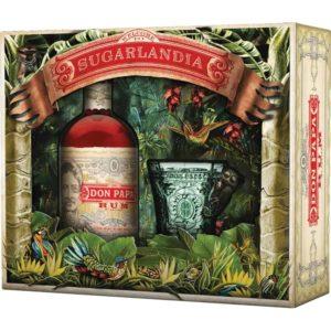 Rum Don Papa 7 Yo – Limitierte Edition – Sugarlandia – Degustationsglas